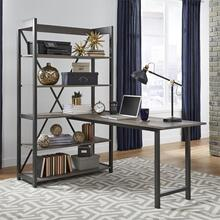 Desk and Bookcase Set