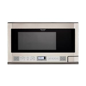 Sharp Appliances1.5 cu. ft. 1100W Stainless Steel Sharp Over-the-Counter Carousel Microwave Oven