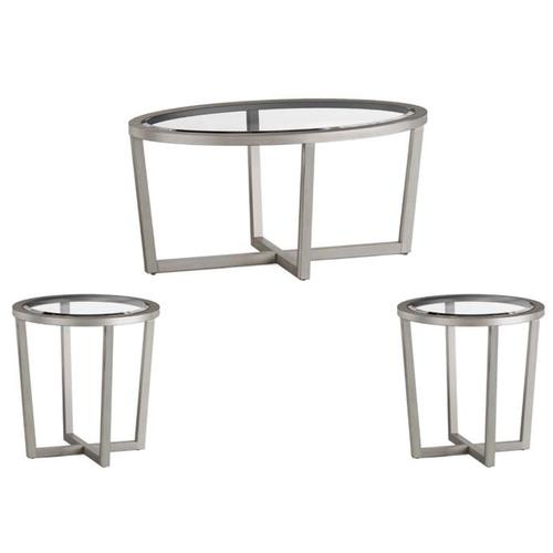 70055 Butler Graystone Cocktail and End Table Set