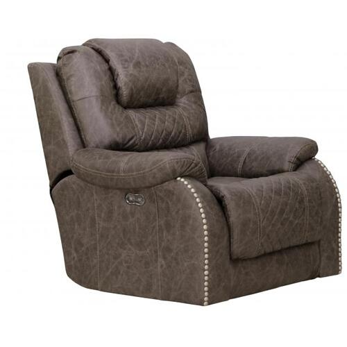 Power Lay Flat Recl Cnsl Loveseat w/Storage & Cupholders
