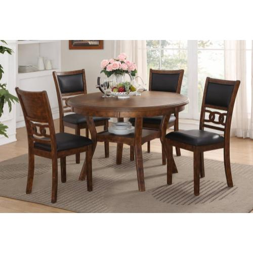 Gia 5pc Brown Dinette set by New Classic D1701-50