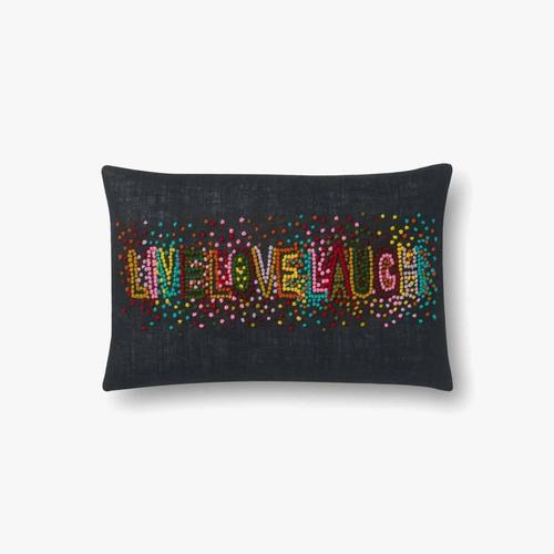 P0561 Black / Multi Pillow
