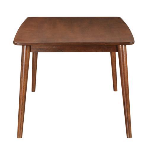 Draper Mid-Century Modern Rectangular Dining Table