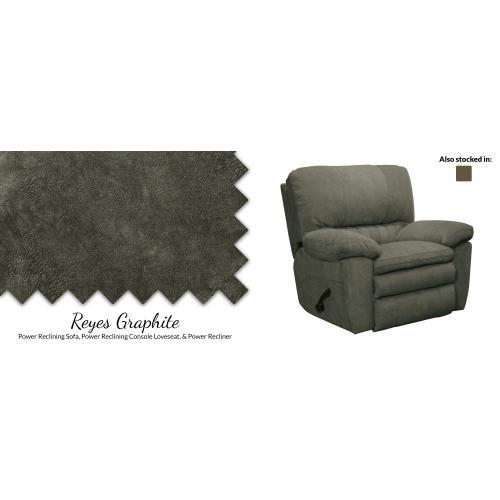 American Wholesale Furniture - Reclining Sofa Graphite