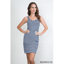 Striped Body Esteem Dress (6 pc. ppk.)