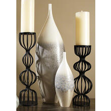 Cream Rises Vase-Tall-Lg