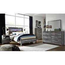 View Product - Full Panel Bed With Dresser