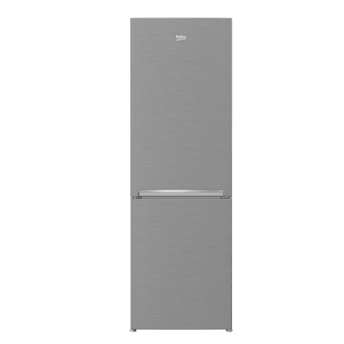 "Beko - 24"" Freezer Bottom Stainless Steel Refrigerator with Auto Ice Maker"