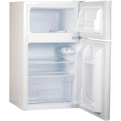 Petra - 3.2 Cubic-Foot 2-Door Refrigerator/Freezer (White)