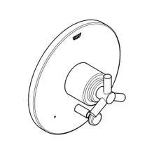 Atrio Pressure Balance Valve Trim With Diverter