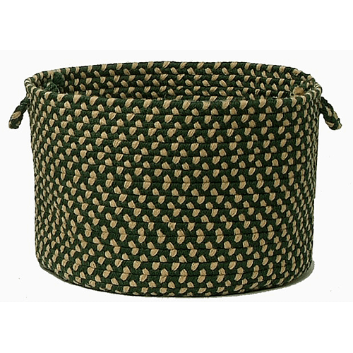 "Brook Farm Basket BF62 Winter Green 18"" X 12"""