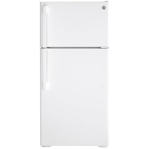 GE® ENERGY STAR® 15.6 Cu. Ft. Top-Freezer Refrigerator