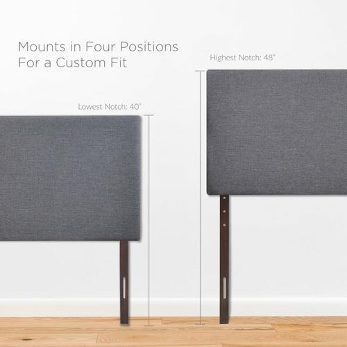 Modway - Region Queen Upholstered Headboard in Smoke