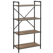 Bronx 4-Tier etagère in Antique Black