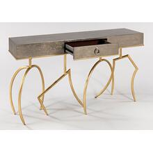 """View Product - Console Table with Glass 60x14x33.5"""""""