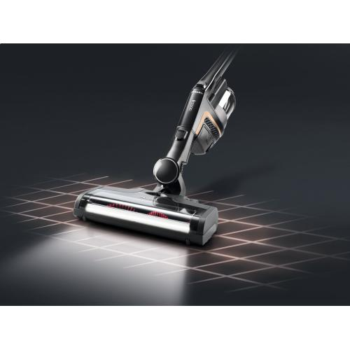 Cordless stick vacuum cleaner With additional handheld brush - ideal for pet owners.