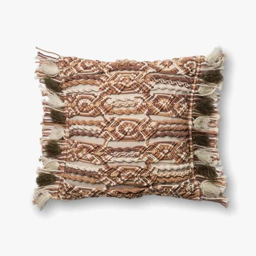 P0442 Brown / Ivory Pillow