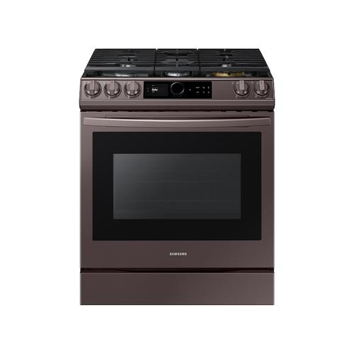 6.0 cu ft. Smart Slide-in Gas Range with Smart Dial & Air Fry in Tuscan Stainless Steel