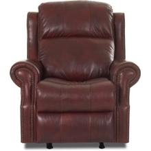 Rocking Reclining Power Leather Chair