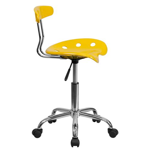 Flash Furniture - Swivel Task Chair  Adjustable Swivel Chair for Desk and Office with Tractor Seat