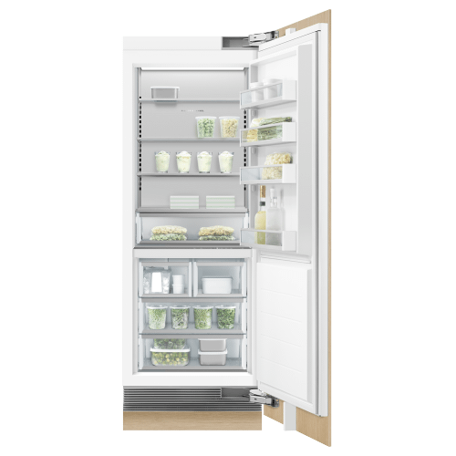 """Fisher & Paykel - Integrated Column Freezer, 30"""", Ice"""
