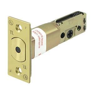 """GR2 Reg. Latch D.Bolt 2-3/8"""" - Polished Brass"""