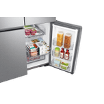 Samsung Appliances 23 cu. ft. Smart Counter Depth 4-Door Flex™ refrigerator with AutoFill Water Pitcher and Dual Ice Maker in Stainless Steel