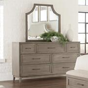 Vogue - Arch Mirror - Gray Wash Finish Product Image