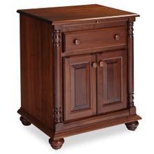See Details - Savannah Deluxe Nightstand with Doors