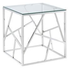 Juniper Accent Table in Silver
