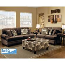 Groovy Chocolate (Sofa & Love) Love Seat