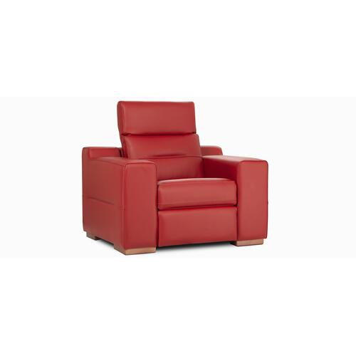 Gallery - Portofino Double chair / Motion (044; Wood legs - Wheat 92)