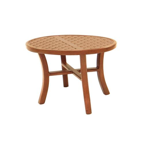 """Castelle - 26"""" Transitional Elliptical Occasional Table"""