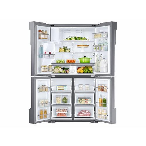 Gallery - 28 cu. ft. 4-Door Flex™ Refrigerator with FlexZone™ in Stainless Steel