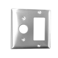 Radiant Double Gang Plate - Polished