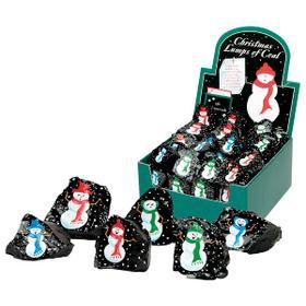 Christmas Lumps of Coal - Snowmen (36 pc. ppk.)