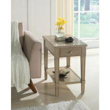 See Details - Parkdale - Chairside Table - Dove Grey Finish