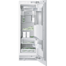 """See Details - Vario freezer 400 series RF 463 700 fully integrated Niche width 24"""" (61 cm), Niche height 84"""" (213.4 cm) Right-hinged"""