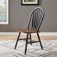 Windsor Side Chair- Black