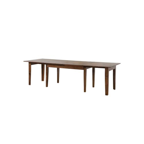 Extendable Dining Set - Amish (10 Piece)