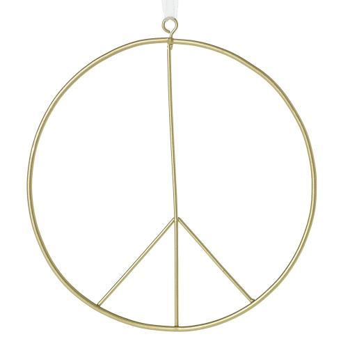 "6"" Peace Sign Ornament"