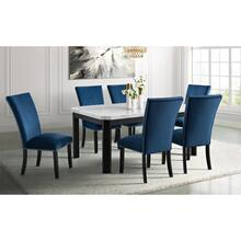See Details - Francesca Rectangular Dining Set - Table and 6 Chairs