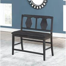 8749 Counter Height Love Bench