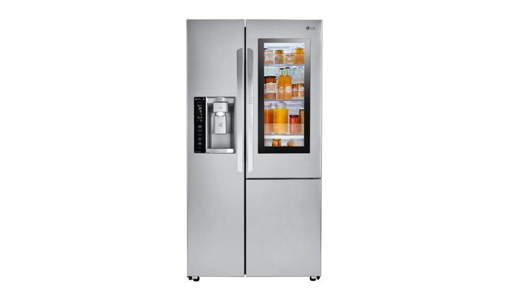 LG Appliances22 Cu.Ft. Smart Wi-Fi Enabled Instaview™ Door-In-Door® Counter-Depth Refrigerator