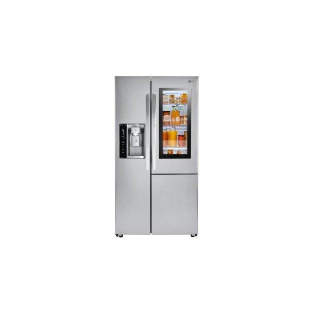 LG Appliances 22 cu.ft. Smart wi-fi Enabled InstaView™ Door-in-Door® Counter-Depth Refrigerator