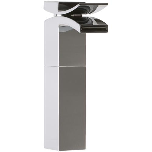 Quarto Vessel Lav Faucet Front Flow Solid Brass Construction Flow Rate: 1.2GPM