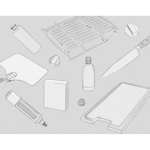 Transitional Grill Module Briquette Replacement Kit