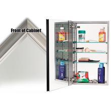See Details - Mirror Cabinet MC40244 - Satin Nickel