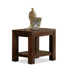 Castlewood Side Table Warm Tobacco finish