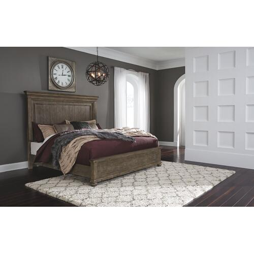 Johnelle California King Panel Bed